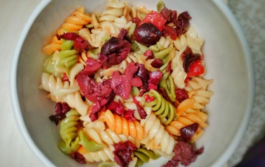 Tri (our) PastaSalad!