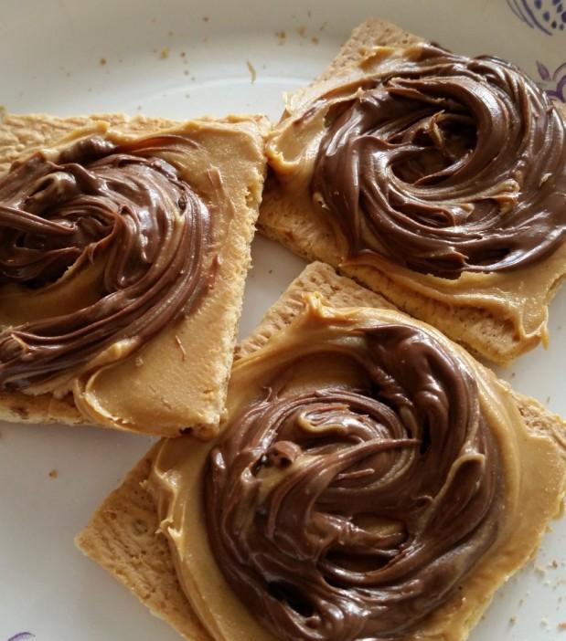 Chocolate Peanut Butter GrahamCrackers!