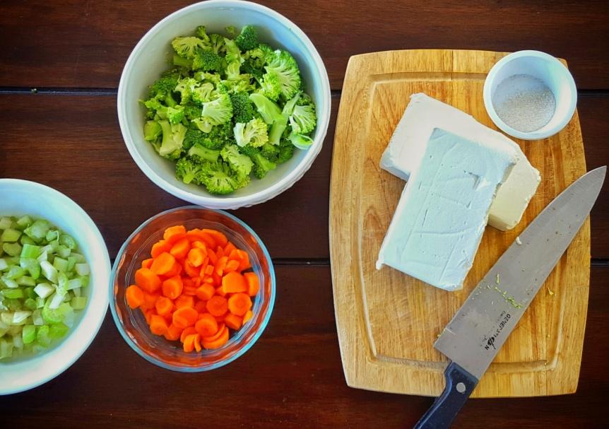 Vegetable Cream CheeseBagels!