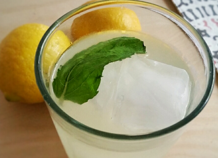 Healthy Herb Infused Lemonade