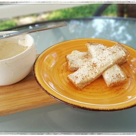 Cream Cheese Sticks for breakfast